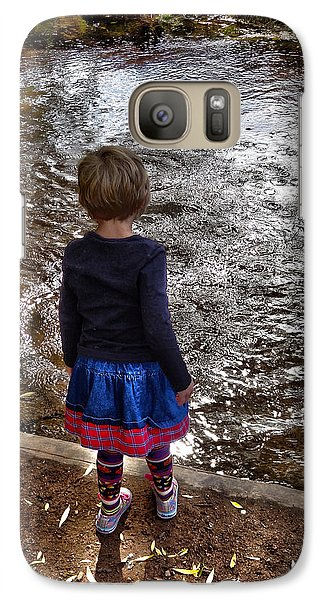 Galaxy Case featuring the photograph Dreaming On Water by Lanita Williams