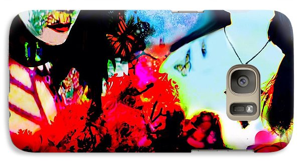 Galaxy Case featuring the digital art Dreaming To Fly by Diana Riukas