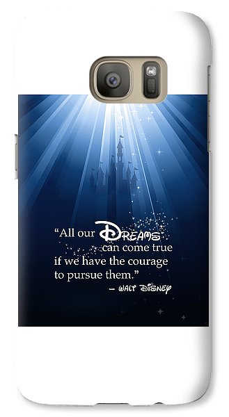 Mouse Galaxy S7 Case - Dreams Can Come True by Nancy Ingersoll