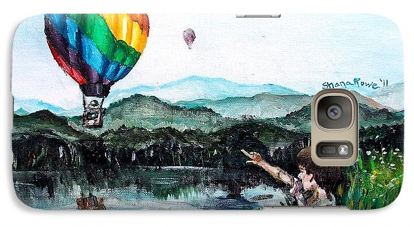 Galaxy Case featuring the painting Dreams Do Come True by Shana Rowe Jackson
