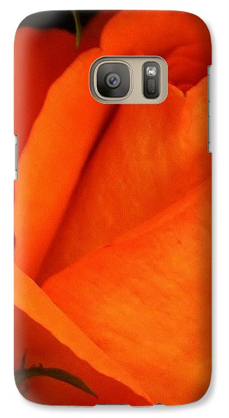 Galaxy Case featuring the photograph Dreams Of Orange by Bruce Bley