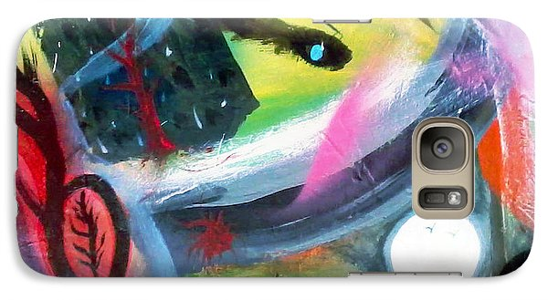Galaxy Case featuring the painting Dreams by Yul Olaivar