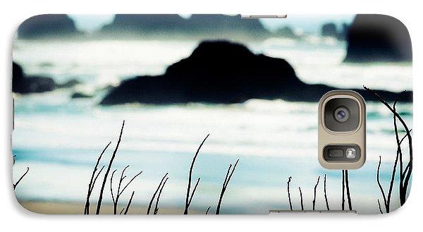 Dreamy Beach Galaxy Case by Debi Bishop
