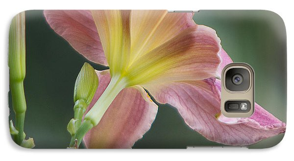 Galaxy Case featuring the photograph Dreamy Daylily by Patti Deters