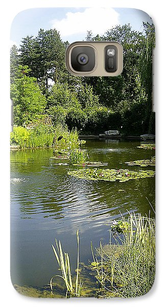 Galaxy Case featuring the photograph Dreamy Pond by Verana Stark