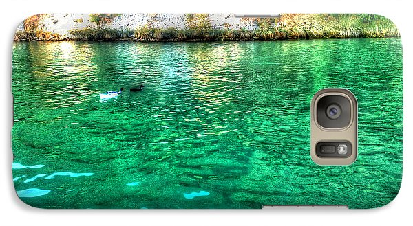 Galaxy Case featuring the photograph Dreamy River by Hanza Turgul