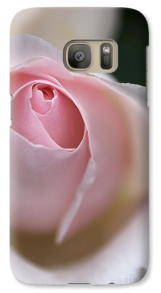 Galaxy Case featuring the photograph Dreamy Rose by Joy Watson