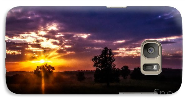 Galaxy Case featuring the photograph Dreamy Sunset by Julie Clements