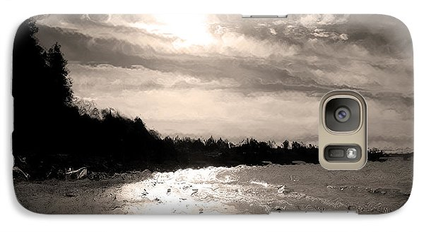 Galaxy Case featuring the photograph Dreamy Tides by Arlene Sundby