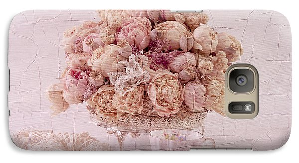 Galaxy Case featuring the photograph Dried Peony Still Life by Sandra Foster