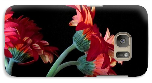 Galaxy Case featuring the photograph Drift Apart by Brenda Pressnall