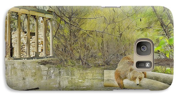 Galaxy Case featuring the photograph Drifter by Liane Wright
