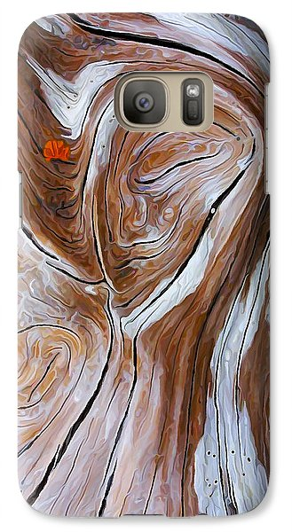 Galaxy Case featuring the photograph Driftwood 6 by ABeautifulSky Photography