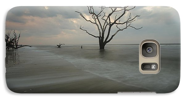 Galaxy Case featuring the photograph Driftwood Dawn by Doug McPherson