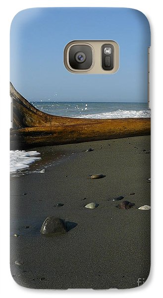 Galaxy Case featuring the photograph Driftwood by Jane Ford