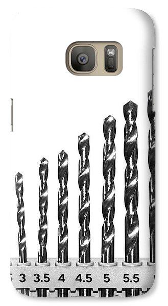 Galaxy Case featuring the photograph Drill Bits by Matt Malloy
