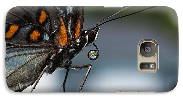 Galaxy Case featuring the photograph Drinking Dew Drops 2 by David Lester