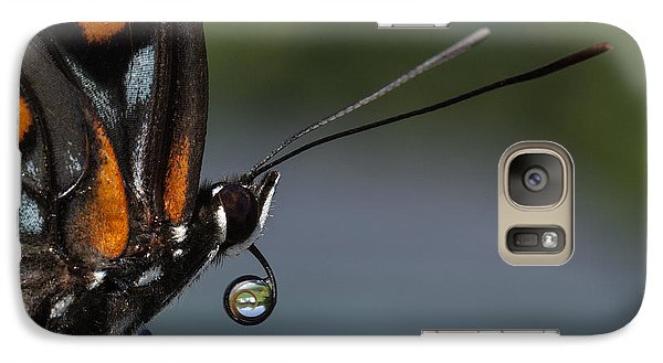 Galaxy Case featuring the photograph Drinking Dew Drops 5 by David Lester