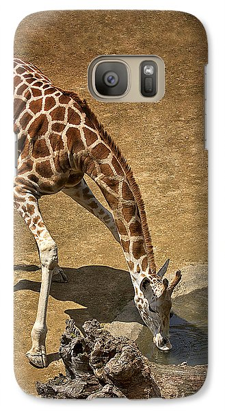 Galaxy Case featuring the photograph Drinking Time by Kim Andelkovic