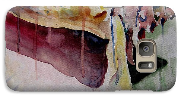 Galaxy Case featuring the painting Dripping Shell by Jeffrey S Perrine