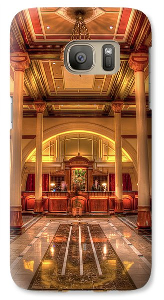 Galaxy Case featuring the photograph Driskill Hotel Check-in by Tim Stanley