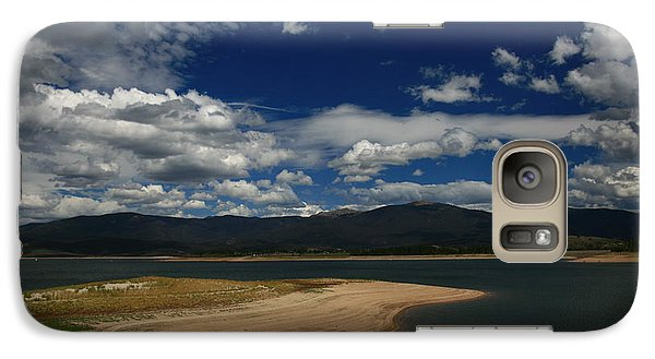 Galaxy Case featuring the photograph Drive By Viewing by Shirley Heier