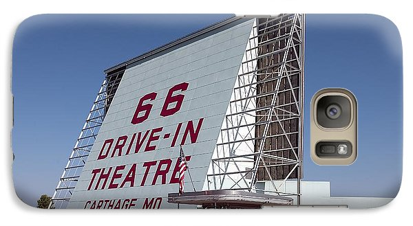 Galaxy Case featuring the photograph Drive-in. Rt.66 by Allen Beilschmidt