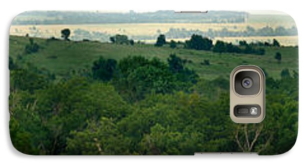 Galaxy Case featuring the photograph Drive The Flint Hills by Brian Duram
