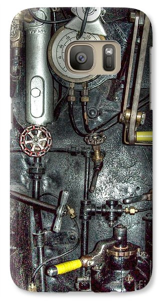 Galaxy Case featuring the photograph Driving Steam by MJ Olsen