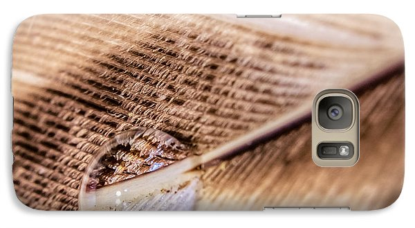Galaxy Case featuring the photograph Droplet On A Quill by Rob Sellers