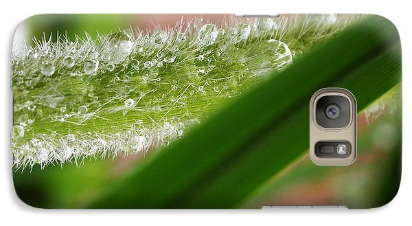 Galaxy Case featuring the photograph Droplets Of Life by Deborah Fay