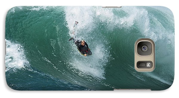 Galaxy Case featuring the photograph Dropping In by Duncan Selby