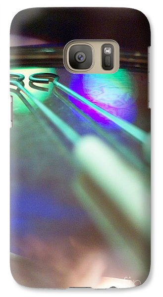 Galaxy Case featuring the photograph Drum Brushes by Lynda Dawson-Youngclaus