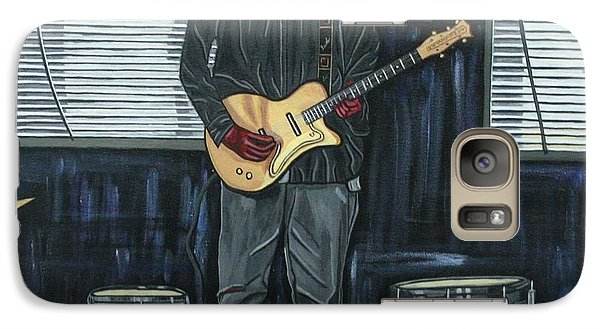Drums And Wires Galaxy S7 Case by Sandra Marie Adams