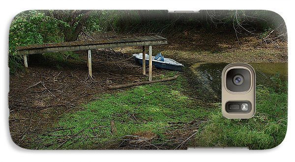 Galaxy Case featuring the photograph Dry Docked by Peter Piatt