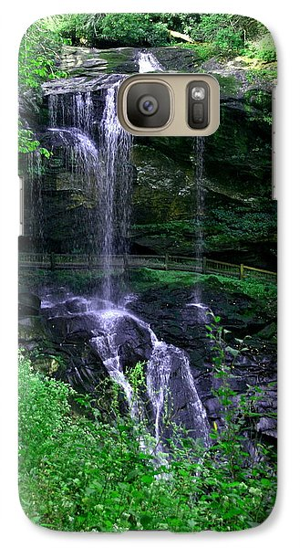 Galaxy Case featuring the photograph Dry Falls by Cathy Harper