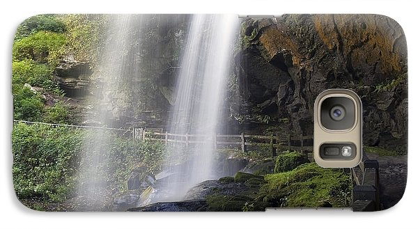 Galaxy Case featuring the photograph Dry Falls North Carolina by Charles Beeler