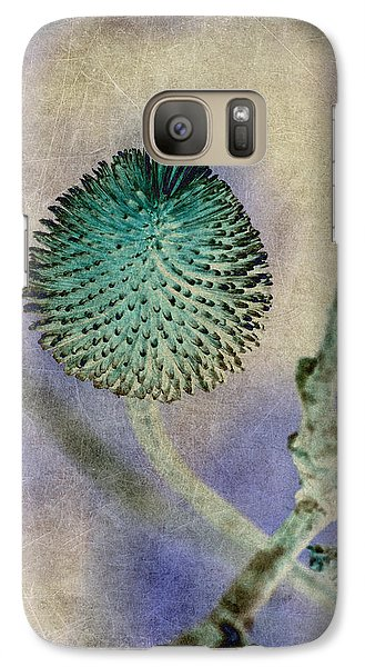 Galaxy Case featuring the photograph Dryweed by WB Johnston