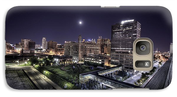 Galaxy Case featuring the photograph Dte In Detroit by Nicholas  Grunas