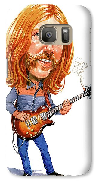 Music Galaxy S7 Case - Duane Allman by Art