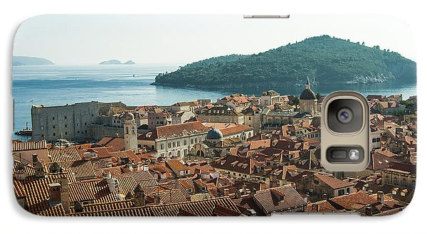 Galaxy Case featuring the photograph Dubrovnik View To The Sea by Phyllis Peterson