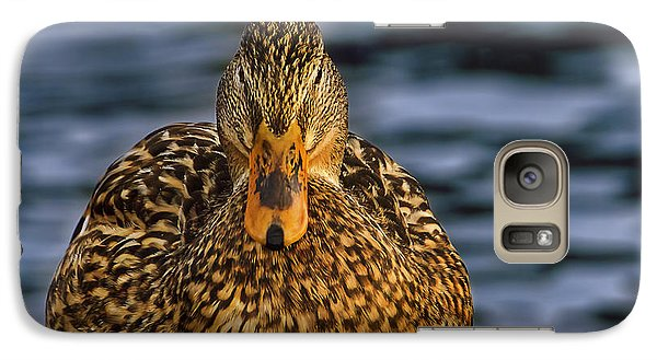 Galaxy Case featuring the photograph Duck by Brian Cross