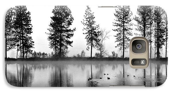 Galaxy Case featuring the photograph Duck Weather by Julia Hassett
