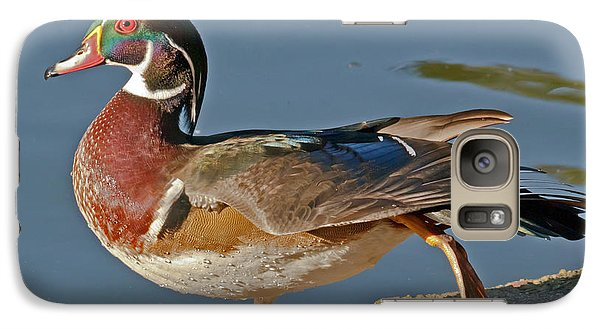 Galaxy Case featuring the photograph Duck Yoga by Kate Brown