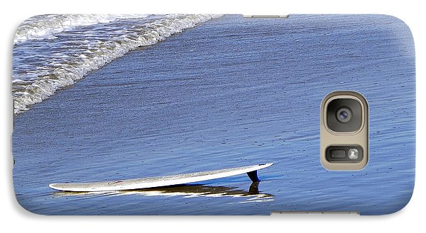 Galaxy Case featuring the photograph Dude Where Is My Surfer by Kathy Churchman