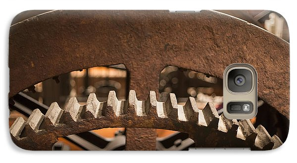 Galaxy Case featuring the photograph Dudley Steam Engine by Jim West