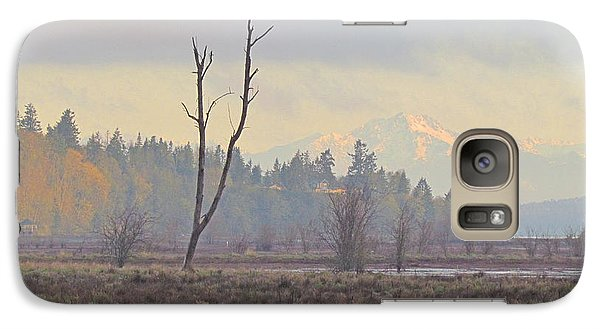 Galaxy Case featuring the photograph Due North  by I'ina Van Lawick