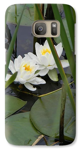 Galaxy Case featuring the photograph Duet by Jean Goodwin Brooks