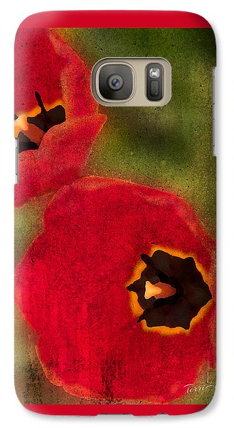 Galaxy Case featuring the photograph Duet by Terri Harper