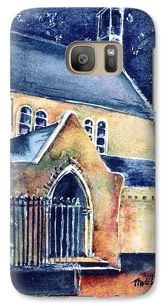Galaxy Case featuring the painting Duiske Abbey Ireland    by Trudi Doyle